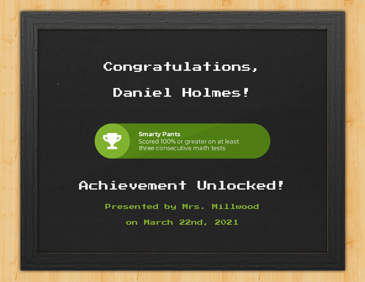 Achievement Unlocked - Video Game Certificate